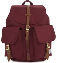 Herschel Supply Co Dawson Nylon Backpack Windsor Wine Tan