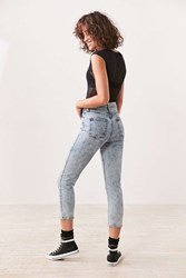 Bdg Girlfriend High Rise Jean Acid Wash Light Blue