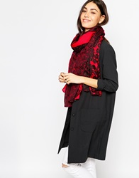 Pieces Printed Scarf Jesterred
