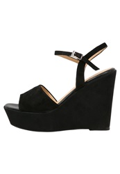 Wallis Savana Platform Sandals Black