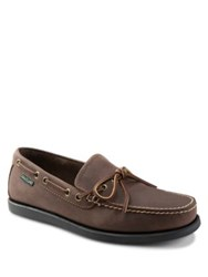 Eastland Yarmouth Leather Boat Shoes Natural