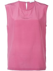 Christian Wijnants Cut Out Detail Vest Red
