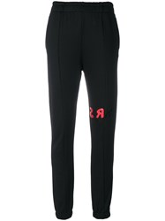Sonia Rykiel Fitted Track Trousers Black