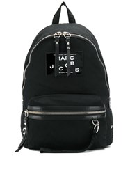 Marc Jacobs Patent Logo Patch Backpack 60