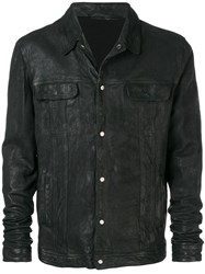 Salvatore Santoro Worn Jacket Black