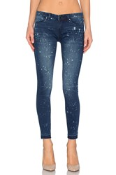 Blank Nyc Splatter Crop Skinny Reef Blower