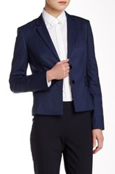 Hugo Boss Jaru Wool Blend Blazer Blue