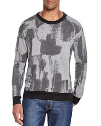 Alternative Apparel Abstract Print Sweatshirt Black True Fragment