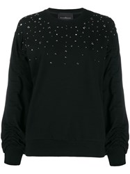 John Richmond Stud Embellished Loose Fit Sweatshirt 60