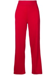Iceberg Side Panel Track Trousers Red