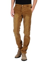 Gaudi' Trousers Casual Trousers Men Camel