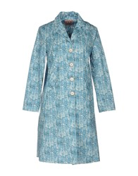Rose' A Pois Overcoats Azure