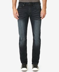 Buffalo David Bitton Men's Evan X Slim Fit Stretch Jeans Lightly Sanded And Creased