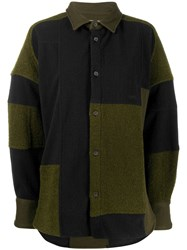 Ambush Patchwork Fleece Shirt 60