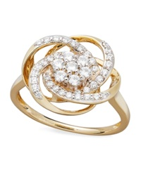 Wrapped In Love Diamond Ring 14K Gold Diamond Knot Ring 1 2 Ct. T.W.