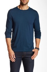 Star Usa By John Varvatos Long Sleeve Crew Neck Tee Blue