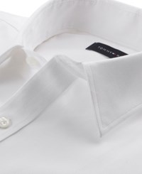 af7822dca Tommy Hilfiger Men's Athletic Fit Performance Stretch Flex Collar Solid  Dress Shirt Created For Macy's White