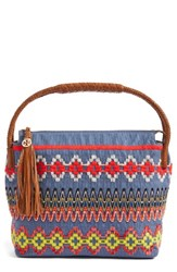 Tory Burch Embroidered Hobo