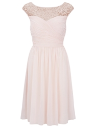 Kaliko Sequin Dress Pastel Pink