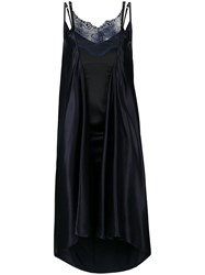 Y Project Double Layered Slip On Dress Black