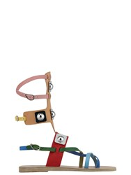 Ancient Greek Sandals With Peter Pilotto Low Gladiator Neutral