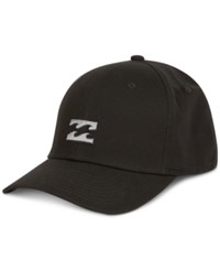 Billabong All Day Fitted Stretch Twill Embroidered Logo Hat Black