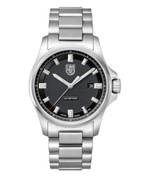 Luminox Dress Field Bracelet Watch Silver