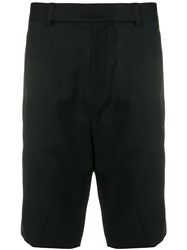 Helmut Lang Tailored Fitted Shorts Black