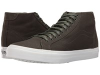 Vans Court Mid Canvas Duffel Bag Men's Skate Shoes Black