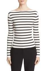 Theory Women's Blasina St V Back Rib Knit Sweater