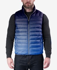 Hawke And Co. Outfitter Men's Weather Resistant Vest Ombre Navy