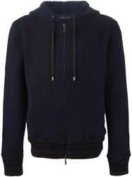 Etro Hooded Sweatshirt Blue