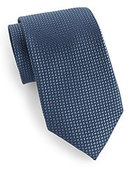 English Laundry Patterned Silk Tie
