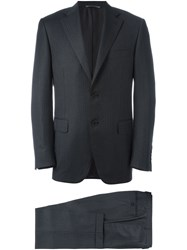 Canali 'Herringbone' Two Piece Suit Grey