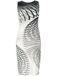 Issey Miyake Pleats Please By Printed Fitted Dress Women Polyester 5