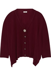 Issa Prunella Wool And Cashmere Blend Cardigan