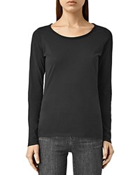 Allsaints Vetten Long Sleeve Tee Black