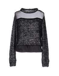 Le Ragazze Di St. Barth Sweaters Steel Grey