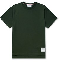 Thom Browne Cotton Jersey T Shirt Green