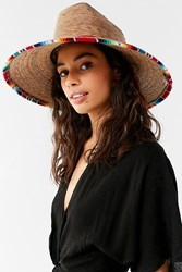 Peter Grimm Luz Straw Lifeguard Hat Tan