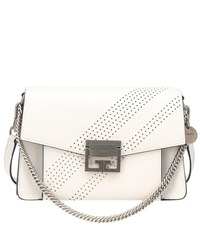 Givenchy Small Gv3 Leather Shoulder Bag White