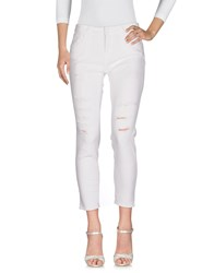 Up Jeans Denim Denim Trousers White