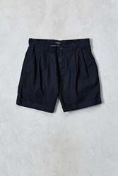 Cpo Perry 11' Pleated Linen Short Black