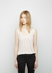 The Row Roger Tank White