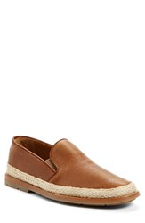 Aquatalia By Marvin K Men's 'Zayn' Weatherproof Espadrille Caramel Leather
