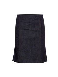 Tomas Maier High Waist Denim Skirt