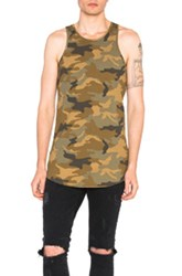 Amiri Tank In Brown Abstract Brown Abstract