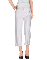 True Royal Trousers 3 4 Length Trousers Women White