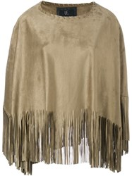 Unreal Fur 'Nina' Cape Brown