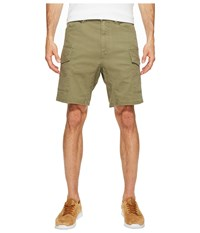Volcom Base Cargo Shorts Light Army Men's Shorts Green